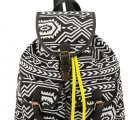 Geometric Patterns Backpack